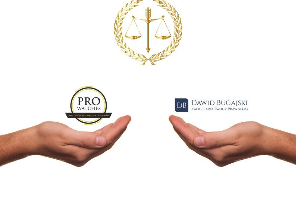 PRO WATCHES pomaga wraz z Kancelaria Prawną Dawida Bugajskiego