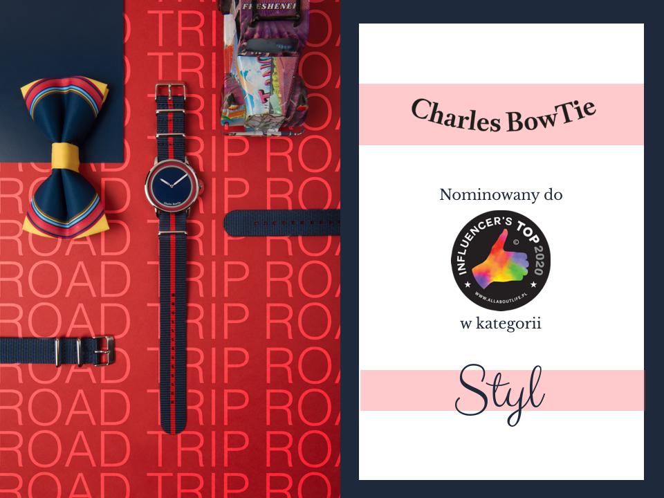 zegarki Charles BowTie nominowane w konkursie Influencer's TOP