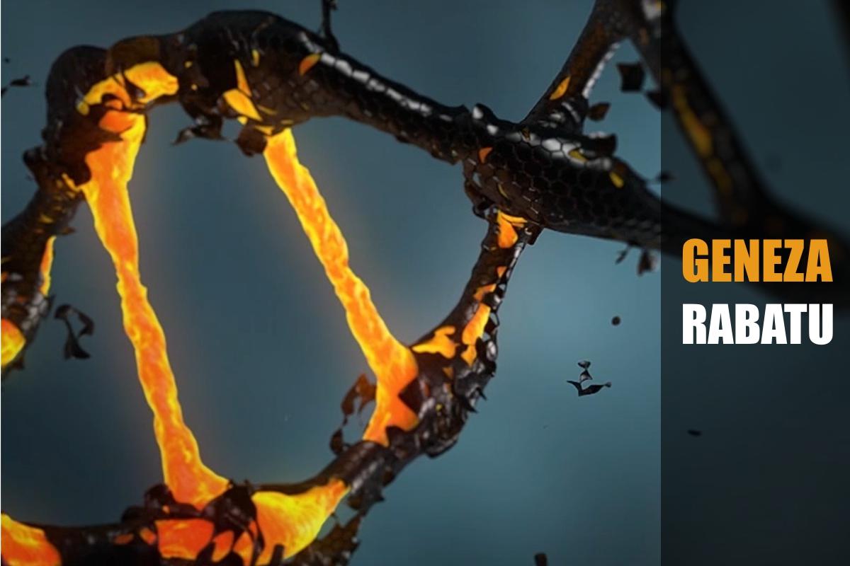 przerwany kod DNA