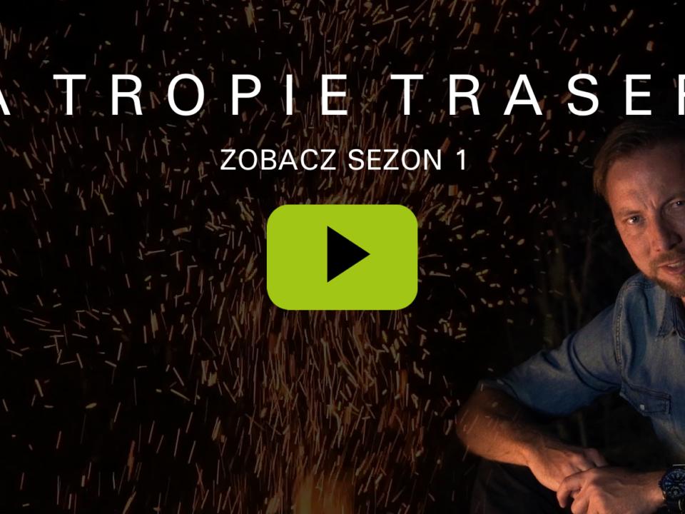 "Paweł Biernacki w serialu ""Na tropie trasera"""